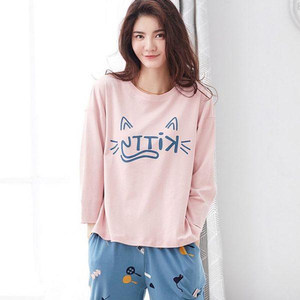... Autumn Striped Pyjamas Cotton Couple Pajamas Set Women Sleepwear Pajama  Sets Pijamas Mujer Lover Pyjamas Homewear Clothing. 203008817. 202997806.  193 7dc731ac7