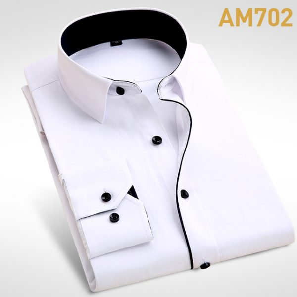 2018 Brand New Men Shirt Male Dress Shirts Men S Fashion Casual Long