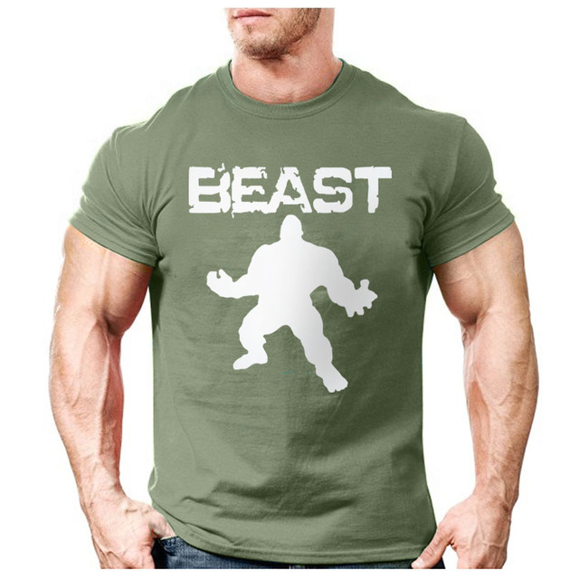 1197d40df4c5e New Brand clothing Bodybuilding Fitness Men beast printed t-shirts Golds  Gorilla Wear tee shirts Stringer tops