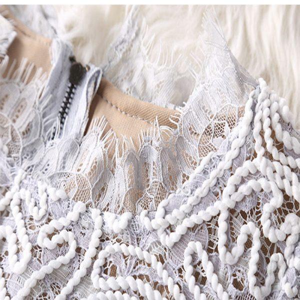 1fd391df36f2 ... Slim Party Dresses Summer 2018 Casual Beach Dress. Vestidos-Lace-Dress- Elegant-Women-Short-Prom-Office-